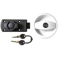 ZADI DOOR LOCK WHITE R/H