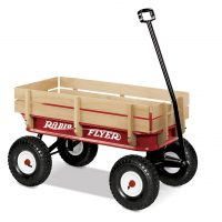 Radio-Flyer All-Terrain Steel & Wood Wagon