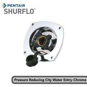 Pentair Shurflo 183-029-14 Pressure Reducing City Water Entry-Chrome