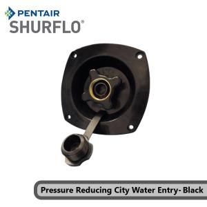 Pentair Shurflo 183-029-16 Pressure Reducing City Water Entry-Black