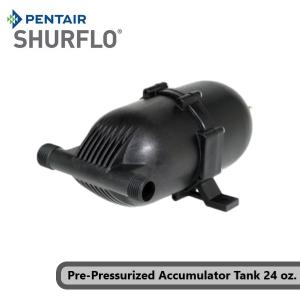 Pentair Shurflo 182-200 Pre-Pressurized Accumulator Tank 24 oz., Nylon